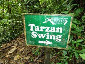 tarzan sign